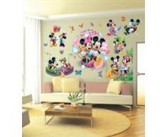 Adesivi murali Topolino bambini, , ragazzo & piccola principessa, adesivi murali camera da letto arredamento camera da letto mickey mouse wall stickers