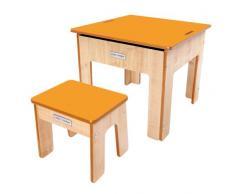 Little Helper, Tavolino basso per bambini, con ripiano reversibile