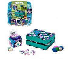 LEGO DOTS Porta Segreti, Set Portagioie Fai da Te, Kit Artistici per Bambini, Accessori da Scrivania, Idea Regalo, 41925