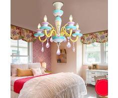 SEXY-lampadario vetro camera end per bambini '- Eleganti creativo cute di personalità di alta lampadario principessa camera da letto lampadario --Interior lampadario illuminazione
