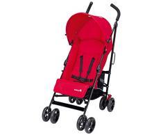Safety 1st Slim Passeggino Leggero, Compatto, Reclinabile, Chiusura Ombrello, Parapioggia Incluso, Colore Plain Red