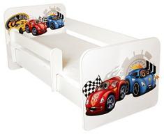 Lettino con incluso materasso, design- Cars