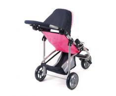 Bayer Chic 2000 612 46 - Passeggino per bambole, colore: Rosa