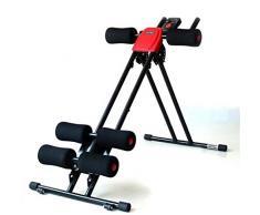 ZHTY Addominali Addominali Muscle Training Machine US Pancia Rullo Lettino Scivolare US Addome Macchina Home Office Attrezzature per Il Fitness