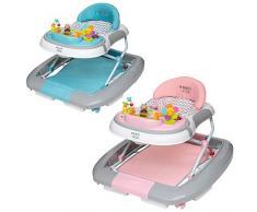 ib style® 3 in 1 Girello per bambini   primi passi   con funzione swing   Luce & Melodia   EN1273:2005   Menta