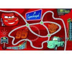 Tappeto Disney Cars strass bambini 170 x 100