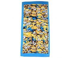 Minions Despicable Me bambini Asciugamano da spiaggia - Azzurro -