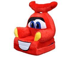 Bambi® Poltrona, poltroncina apribile, divanetto per bambini in morbido peluche. Divano e giocattolo Cars
