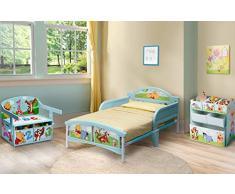 Delta, Baule portagiochi per bambini Winnie the Pooh, in MDF