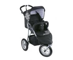 Knorr-baby 883930 - Passeggino Joggy S, colore: Bianco/ Nero