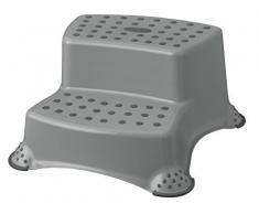 Sgabello grigio passo passo-passo due fasi fino 120 kg