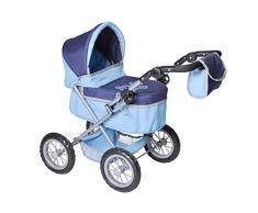 Knorrtoys 63254 - Carrozzina One per bambole, colore: Blu
