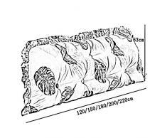 Cushions Liuhoulin Testiera in Cotone Grande Cuscino Morbida Borsa Rimovibile e Lavabile Letto Principessa Schienale Ragazzi e Ragazze Camera da Letto Divano Lungo Cuscino, 5 Colori, 5 Dimensioni