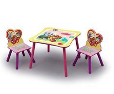 Delta Children TT89578PW set tavolo e sedia per bambini