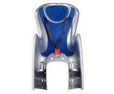Ok Baby - Baby Shield -il Seggiolino per Bambini Posteriore (22 kg)- Argento/Blu