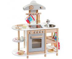 """howa - Cucina giocattolo """"Deluxe"""" in legno 4815"""