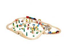 Legnoland 36880 - Pista Treno in Legno