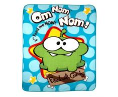 Cut the Rope - Coperta per bambini, in pile, 120 x 150 cm