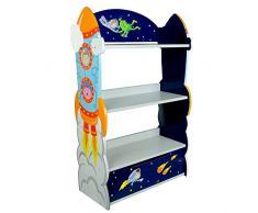 Libreria scaffale legno bambini Fantasy Fields Outer Space TD-12220A