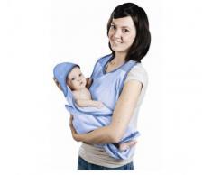 BabyToLove, Asciugamano con cappuccio per bambini, 0-18 mesi