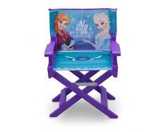 Delta Children Disney Frozen Sedia Regista, Viola, Legno, 35.55x28.90x53.35 cm