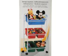 Roll scaffale bambini scaffale multiuso 5boxen Sistema di contenitori