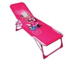 FUN HOUSE 712893 Disney Minnie Bagno di Sole/Lettino Pieghevole per Bambini