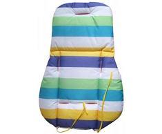 HANBIN Traspirante Seggiolone imbottitura per seggiolino per bambini Tappetino per carrozzina neonato Cuscino traspirante Fodere per sedili Seggiolino per auto Cuscino traspirante per neonato