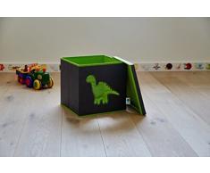 STORE. IT 672067 giocattoli scatola con finestra Dino