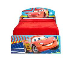 Worlds Apart 516CAC HelloHome Il Lettino di Cars con Pratici Cassetti Sotto il Letto, MDF, Rosso