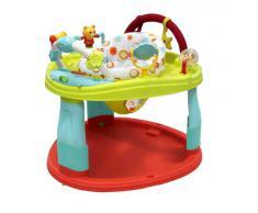 Creative Baby - Girello senza rotelle con giocattoli, multicolore