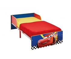 Worlds Apart (WAP) Cars Hello Home Lettino, MDF, Rosso/Blu