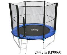 Tappeto elastico di ricambio Best For Sports accessori sicurezza rete 6 aste system 244 cm