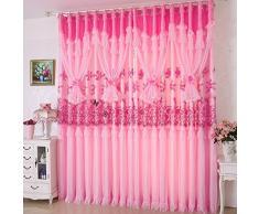 Tende di pizzo principessa/Camera soggiorno tende camera da letto bambini/Matrimonio camera bambini camera tende le-B 300x280cm(118x110inch)