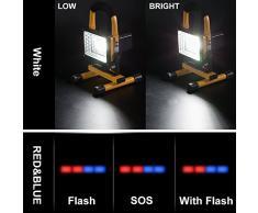 1600LM Accessori Camper / Luci di Emergenza Super Luminoso con Uscita due USB Carica per il Cellulare,Lampade Emergenza led Appendere ed Mettere Impermeabile con 360 Angolo di Rotazione per Camper Usati / Illuminazione / Pesca / All'aperto