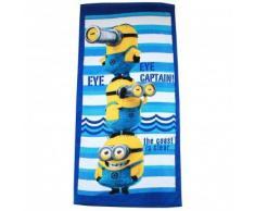 Minions Despicable Me bambini Asciugamano da spiaggia - blu -