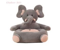 Kaliya Peluche Kids Elephant Sofa Seat Poltrona per Bambini Animal Comfortable Sofa Seat