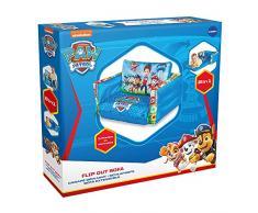 La Squadra dei Cuccioli - Flip Out Mini Divano - lettino e divano gonfiabile 2 in 1 per bambini