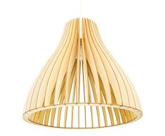 Plafoniere Per Ufficio A Sospensione : Lampade in legno wodewa da acquistare online su livingo
