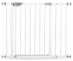 Hauck, Cancelletto di sicurezza per porta, con maniglia a pressione, 75-95 cm