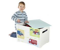 HelloHome ragazzi veicoli scatola dei giocattoli
