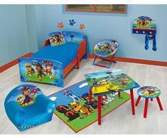 Fun House 712533 sorveglianza Pat-Comodino con cassetto per bambini, in legno/MDF, in tessuto non tessuto, 33 x 30 x 36 cm