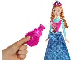 Disney BDK32 Bambola Frozen Anna Principessa dei Colori