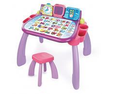 VTech- Scrivania per Bambini, Colore: Rosa, 80-154654
