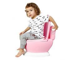 Eruditter Vasino per Bambini Extra Grande per Bambini Simulazione per Bambini Toilette per Bambini Vasino per Bambini Toilet Seat Portatile