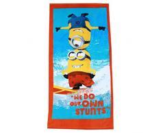 Minions Despicable Me bambini Asciugamano da spiaggia - arancione -