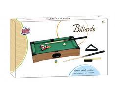 Grandi Giochi GG95010 - Biliardo Legno