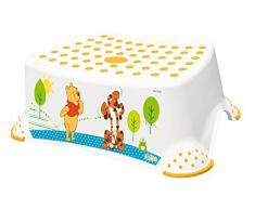 OKT Kids 18431100084 - Sgabello, motivo Winnie Pooh, colore: Bianco