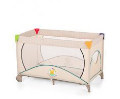 Hauck Dream N Play Go Plus Lettino da Viaggio Disney 4 Pezzi, 120 x 60 cm per Neonati fino a 15 kg, con Ruote, Materasso, Borsa di Trasporto, Apertura Pieghevole, Leggero, Stabile