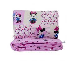 Minnie fantasy - trapuntina primavera + paracolpi lettino Disney